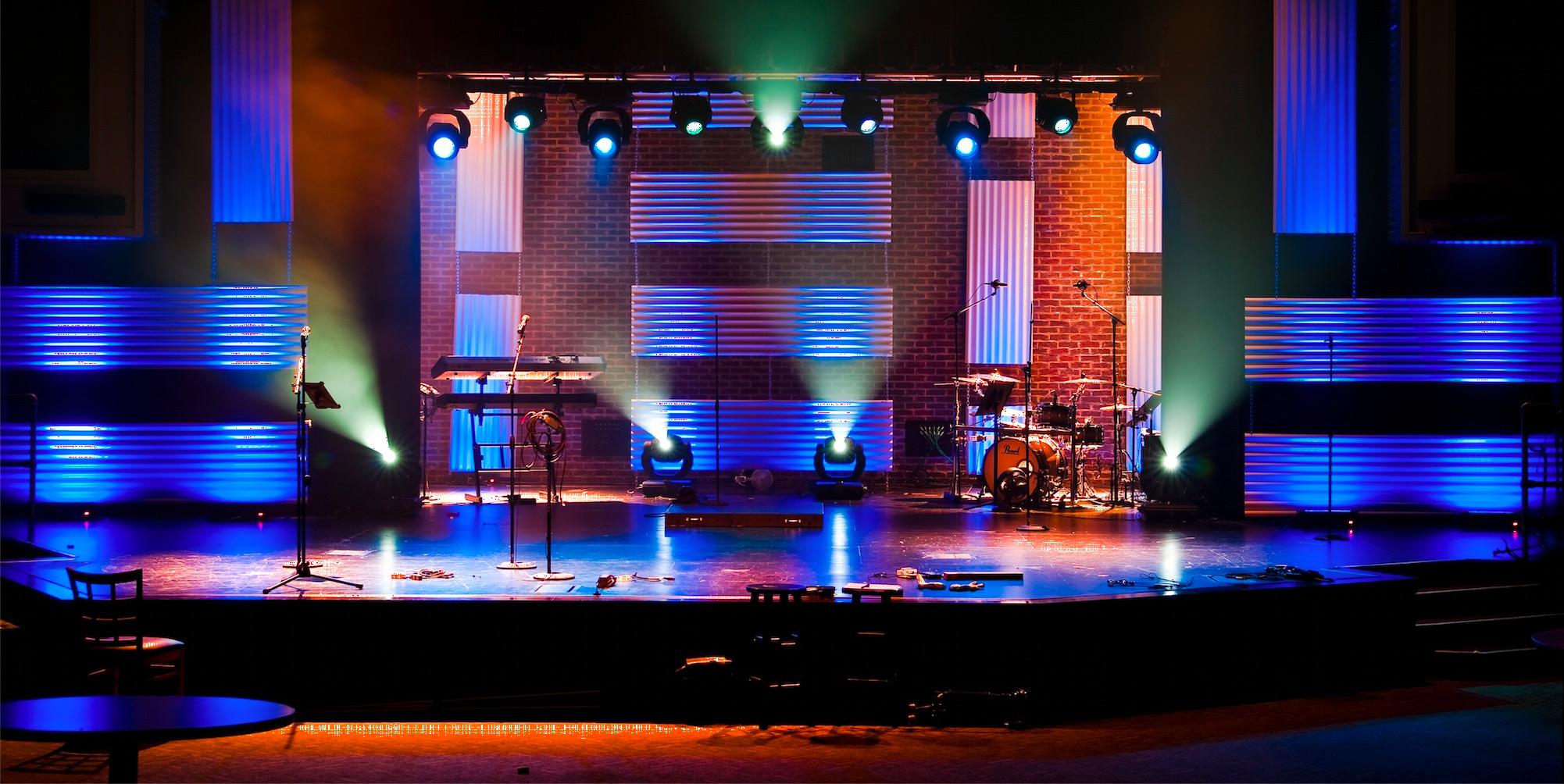 Throwback Ninja Turtles Church Stage Design Ideas