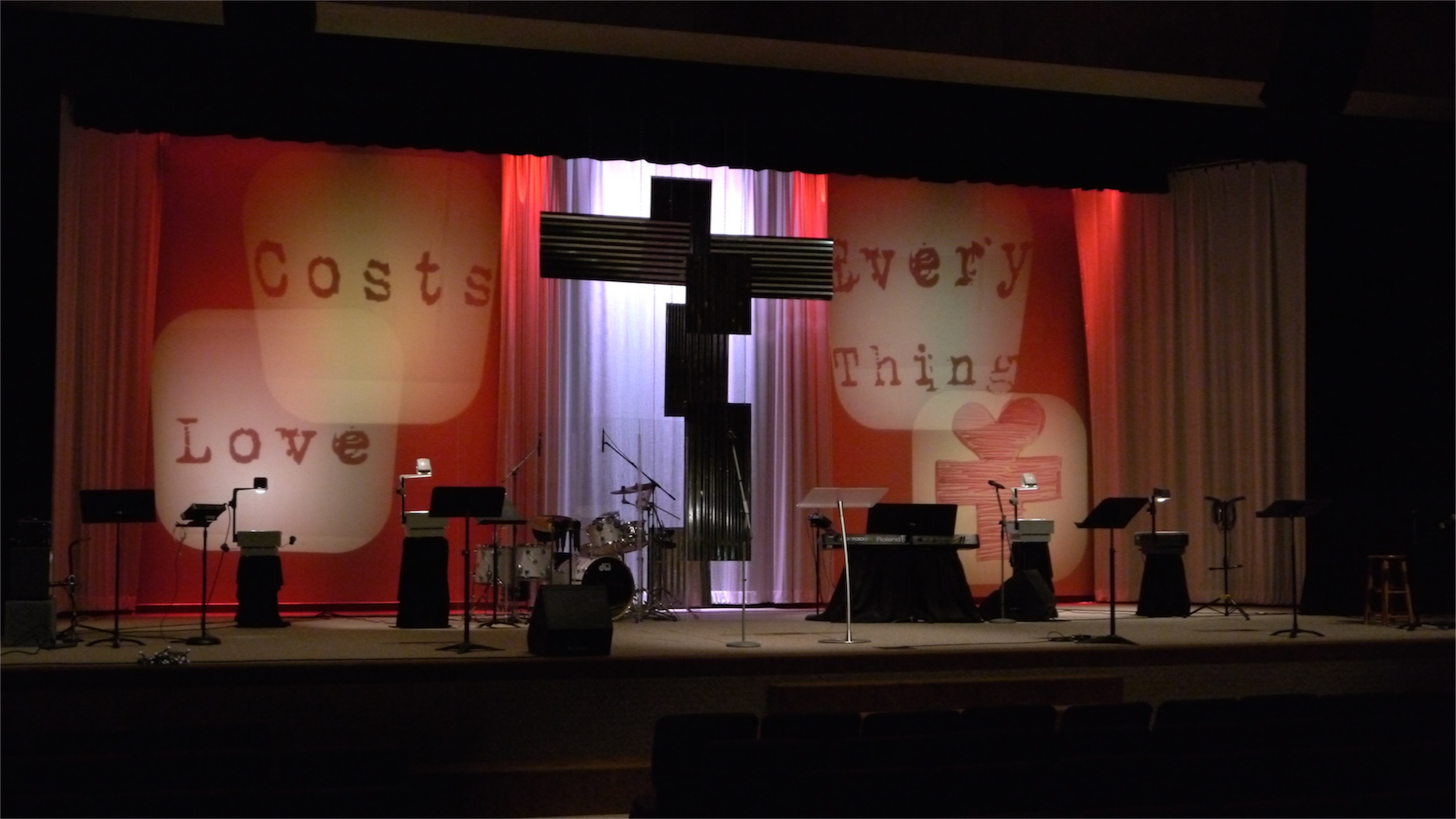 Overhead Church Stage Design Ideas Scenic Sets And
