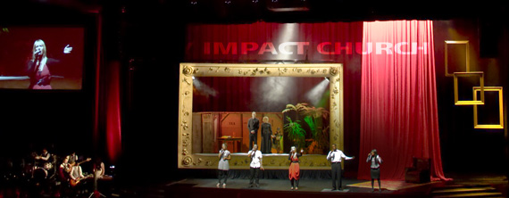 Picture Frame Church Stage Design Ideas