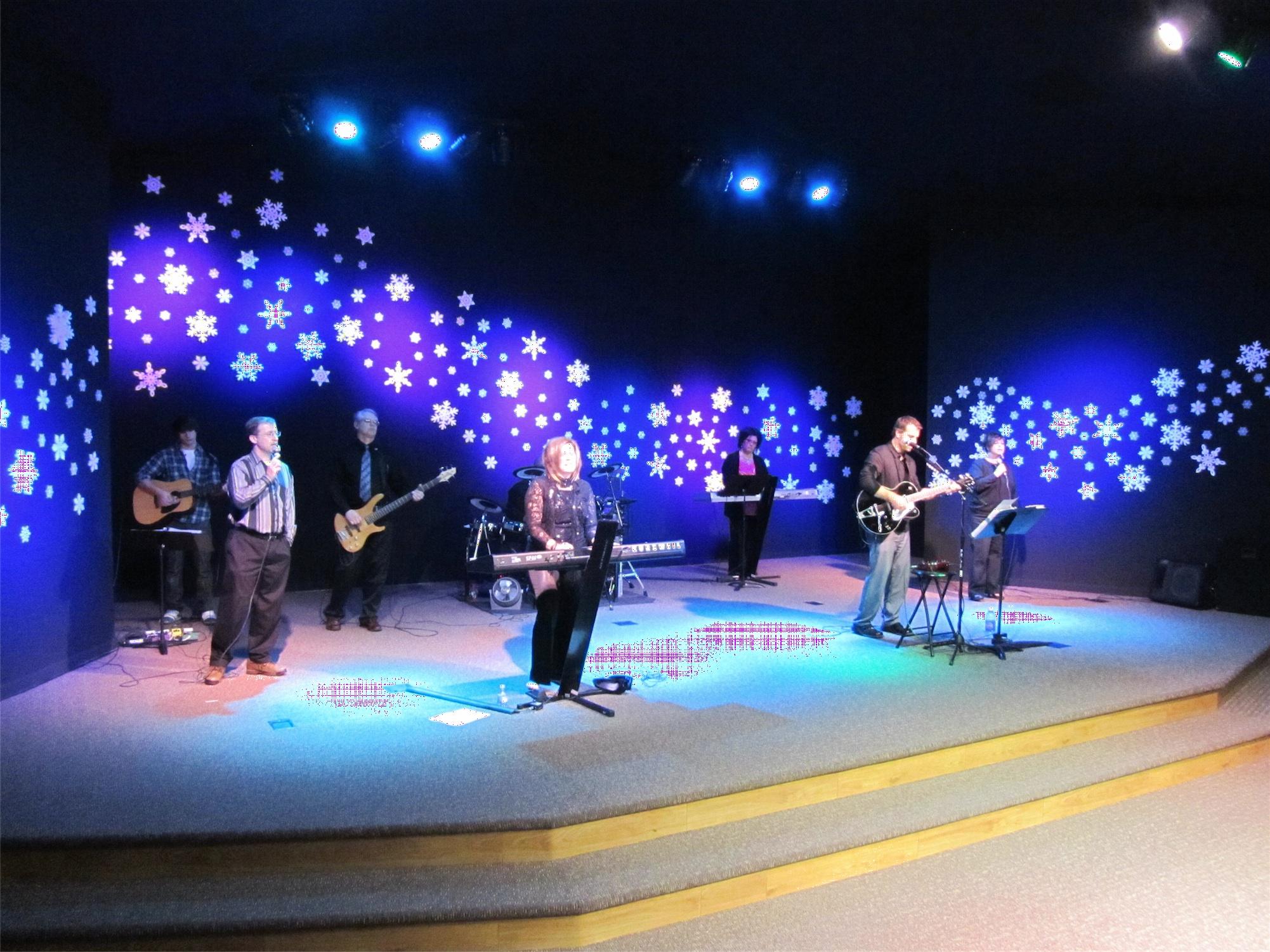 Snowdrift Church Stage Design Ideas Scenic Sets And Stage Design Ideas From Churches Around The Globe