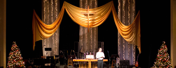Silver And Gold Church Stage Design Ideas Scenic Sets