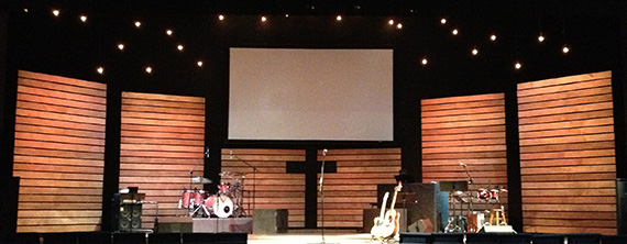 Thin Lines | Church Stage Design Ideas