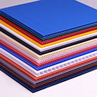 Coroplast, or Corrugated Plastic