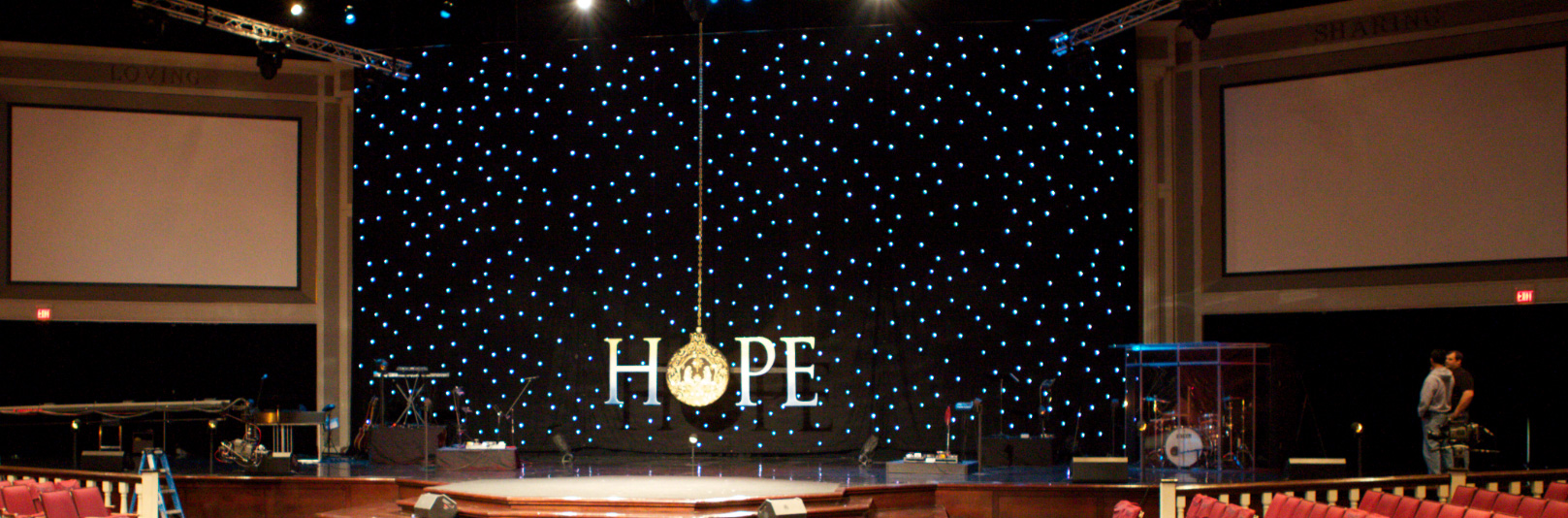 Dangling Hope - Church Stage Design Ideas - Scenic sets and ...