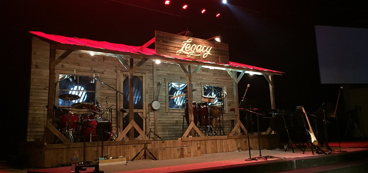 Front Porch Church Stage Design Ideas