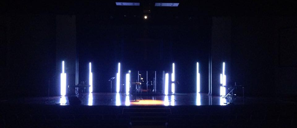 LED Glow Sticks - Church Stage Design Ideas - Scenic sets ...