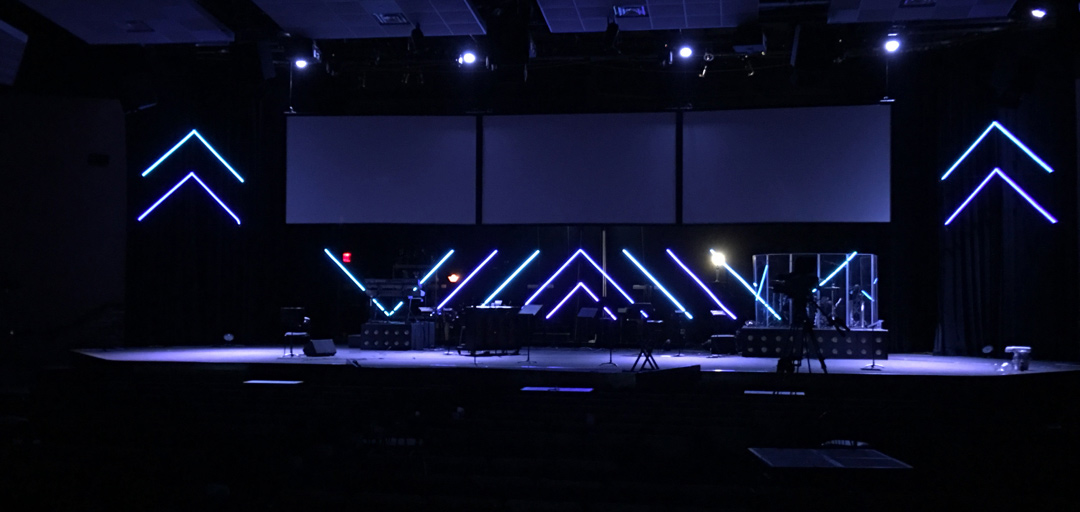LED by the Spirit - Church Stage Design Ideas - Scenic sets ...