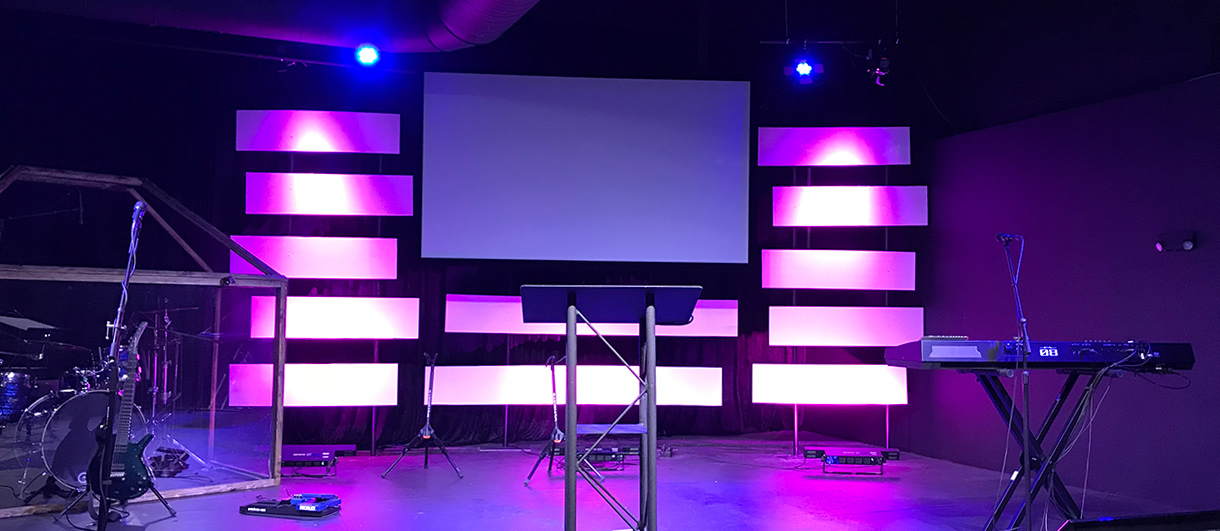 Stacked Bars - Church Stage Design Ideas - Scenic sets and ...