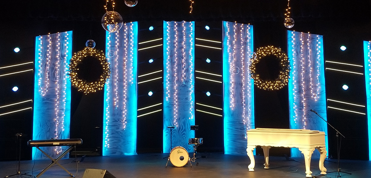 The Wonder Of Christmas Church Stage Design Ideas