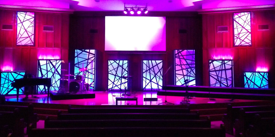 Throwback: Tangled Boxes - Church Stage Design Ideas ...